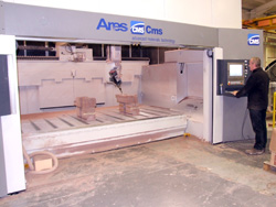 The Ares Cms machining cell