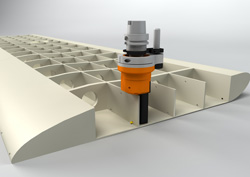 Gewefa's new toolholding system for single point boring bars utilises the proven tool grip features of a hydraulic chuck with the added advantage of guaranteeing fixed orientation when positioning the bar.